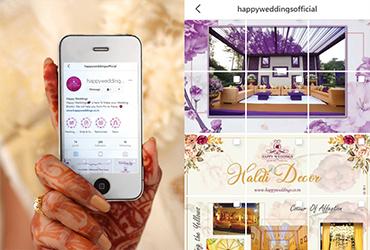 Digital & Social Media Wedding Services, Promote your wedding on Social Media